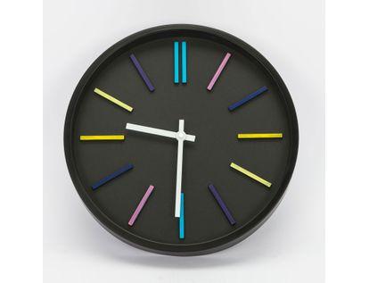 reloj-de-pared-35-cm-negro-circular-615709