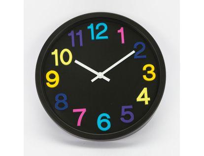 reloj-de-pared-31-cm-negro-circular-615716