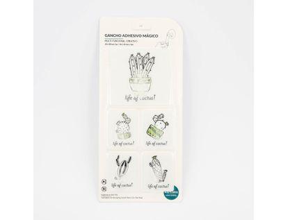 gancho-adhesivo-5-und-rectangular-cactus-fondo-blanco-7701016087711