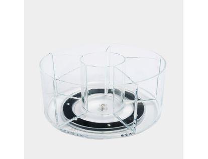 organizador-para-cosmeticos-10-2-cm-x-23-cm-en-acrilico-giratorio-6-divisiones-transparente-7701016036146
