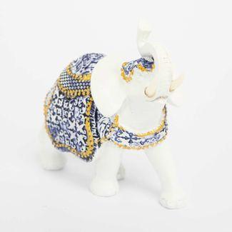 figura-elefante-con-manta-arabescos-azules-blancos-13-cm-3300330049548
