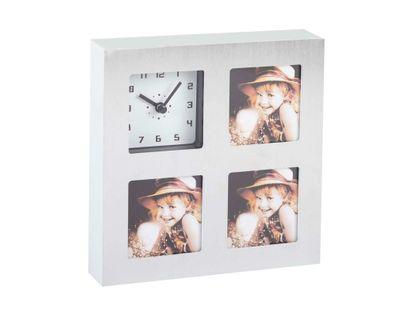 reloj-de-pared-plateado-19-7-cm-con-3-espacios-para-fotos-7701016874946