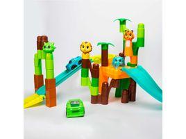 set-de-bloques-56-piezas-jungla-con-animales-carros-azul-verde-616188