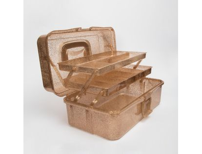 caja-organizadora-con-dos-bandejas-cobre-escarchado-7701016038348