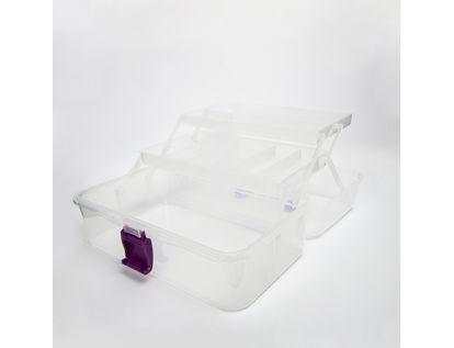 caja-organizadora-con-dos-bandejas-transparente-7701016038355