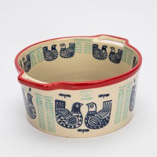 bowl-9-x-18-6-cm-beige-con-diseno-de-gallinas-7701016084055