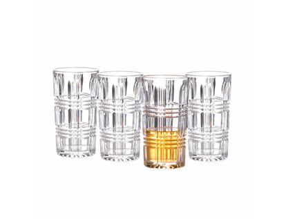 set-de-vasos-largos-de-cristal-diseno-lineas-en-relieve-7701016065238