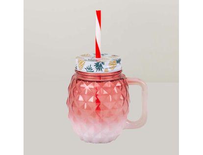vaso-de-vidrio-rojo-degradado-con-pitillo-7701016841382