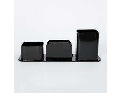 organizador-para-escritorio-plastico-negro-3-compartimientos-7897832851480