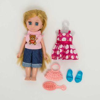 muneca-o-m-girly-de-15-cm-con-pantalon-y-camisa-rosado-y-accesorios-620660