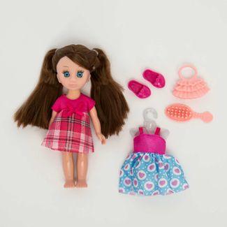 muneca-o-m-girly-de-15-cm-vestido-fucsia-y-accesorios-620661