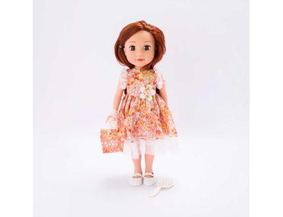 muneca-o-m-girly-de-36-cm-vestido-de-flores-naranja-con-accesorios-620663