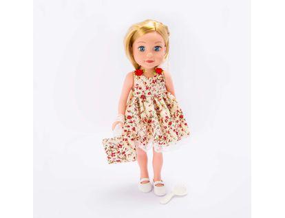 muneca-o-m-girly-de-36-cm-vestido-de-flores-beige-con-accesorios-620668