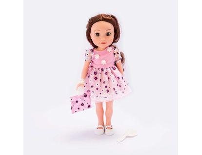 muneca-o-m-girly-de-36-cm-vestido-de-flores-rosado-con-accesorios-620669