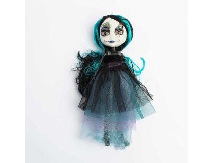 muneca-catrina-de-25-cm-con-cabello-azul-620674