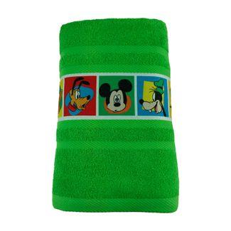 toalla-verde-con-cenefa-estampada-mickey-70-x-130-cm-7702995735259
