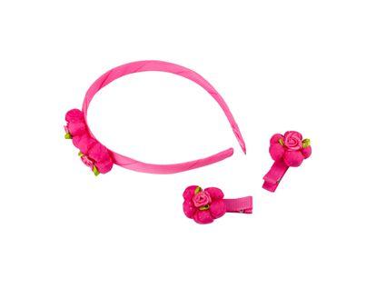 set-de-accesorios-para-cabello-3-piezas-color-rosado-fucsia-620388