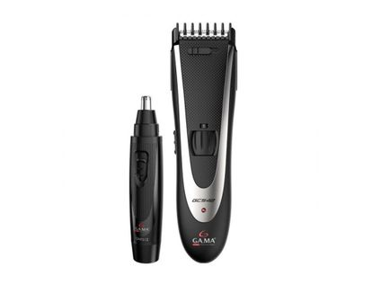 set-corta-pelo-trimmer-gama-color-negro-plateado-8023277125544