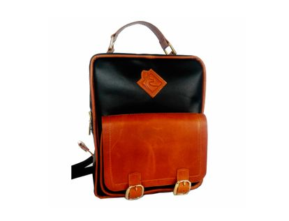morral-en-cuero-first-lady-negro-con-cafe-camel-607622