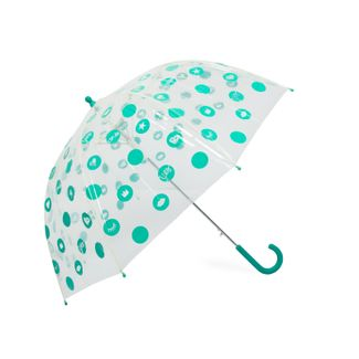 paraguas-semiautomatico-transparente-verde-71-5-cm-8-rayos-8424159992245