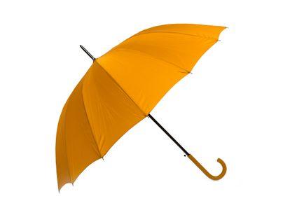paraguas-semiautomatico-color-ocre-88-cm-16-rayos-8424159994928