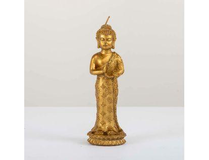 vela-dorada-diseno-buda-de-pie-19-cm-7701016797313
