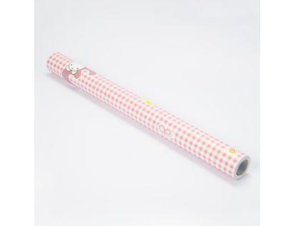 rollo-adhesivo-pvc-rosado-5m-x-45-cm-diseno-numeros-conejos-622906