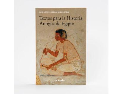 textos-para-la-historia-antigua-de-egipto-9788437642024