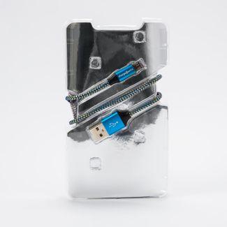 cable-micro-usb-3m-chargeworx-azul-dorado-643620004630