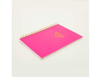 cuaderno-rayado-a5-argollado-80-hojas-rosado-neon-7701016028196