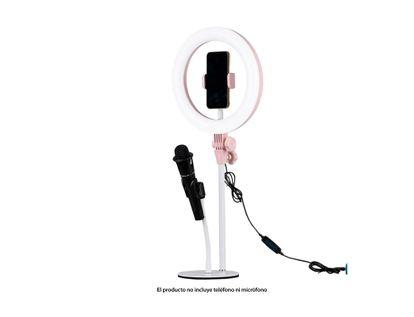 soporte-para-celular-usb-rosado-con-adaptador-para-microfono-y-aro-de-luz-6939119033873