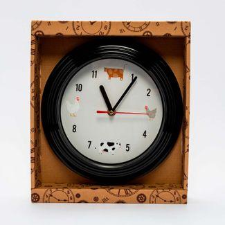 reloj-de-pared-23-cm-circular-negro-animales-de-granja-6034182301017