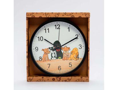 reloj-de-pared-25-cm-circular-negro-con-imagen-de-perros-6034182503428