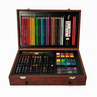 set-de-arte-142-piezas-con-maletin-de-madera-art-101-673468531425