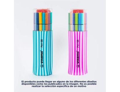 set-de-plumigrafos-stabilo-pen-68-x-15-unidades-7701016872041