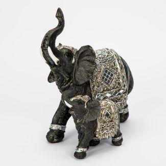 figura-elefante-con-hijo-negro-de-19-x-16-5-cm-con-manta-y-espejos-plateados-7701016129916