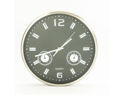 reloj-de-pared-30-5cm-con-medidor-temperatura-y-humedad-diseno-redondo-plateado-y-negro-7701016140218