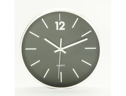 reloj-de-pared-25-5cm-diseno-redondo-plateado-y-negro-7701016140249