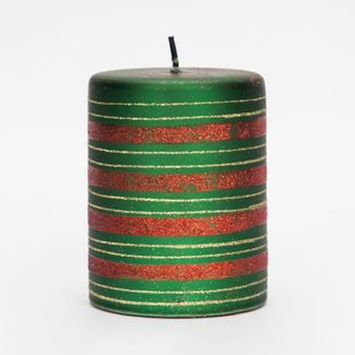 vela-7-2x9-3cm-verde-con-franjas-rojo-y-dorado-7701016196598