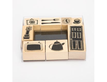 set-de-sellos-x-8-unidades-con-almuadilla-de-figuras-diseno-hogar-7701016106436