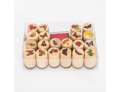 set-de-sellos-x-20-unidades-con-almuadilla-de-animales-y-flores-7701016106450