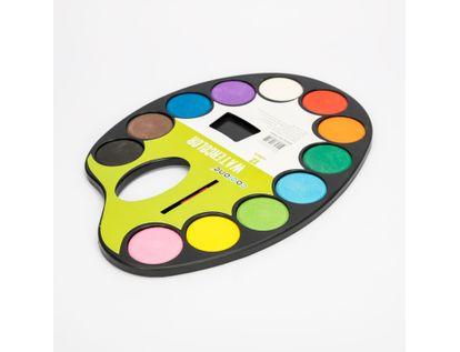 set-de-acuarela-x-12-colores-con-pincel-7701016106559