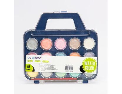 set-de-acuarela-x-15-colores-brillantes-con-pincel-y-estuche-7701016107051