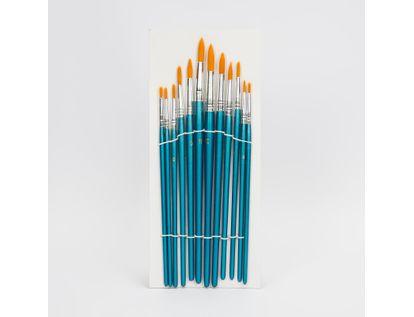 set-de-pinceles-redondos-x-12-unidades-azul-plateado-7701016107341