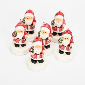 set-de-velas-x-6-unidades-diseno-santa-con-arbol-casa-mini-7701016133265