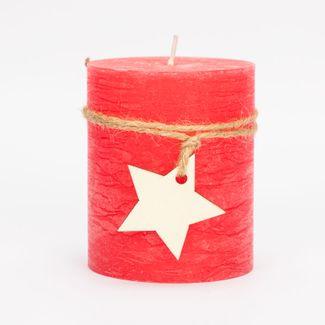 vela-navidena-roja-de-8-5-con-estrella-7701016141802
