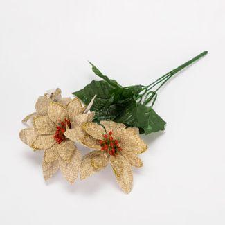 poinsettias-color-beige-con-hojas-verdes-de-36-cm-7701016165181