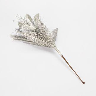 rama-de-39-cm-lirio-espiga-hojas-plateadas-escarchadas-7701016165969