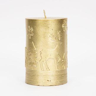 vela-navidena-dorada-de-10-5-cm-diseno-renos-y-copos-de-nieve-7701016175425