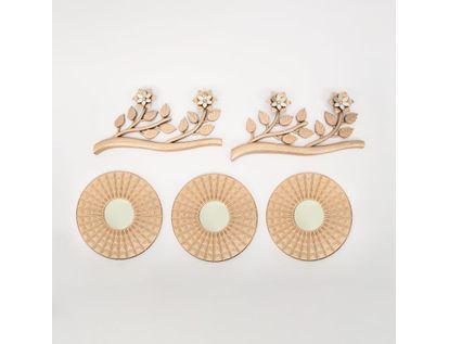 set-x3-espejos-de-pared-24-5cm-ramas-oro-rosa-7701016124980